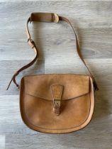 Louis Vuitton Bag vintage A/F brown leather saddle bag