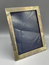 HM Silver photo frame by WC London 24 cm x 19cm.