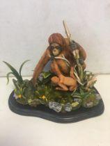 Country Artists Orangutan model A/F 31 cm x 28 cm