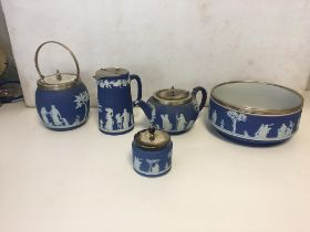 Wedgewood items, kettle bowl etc