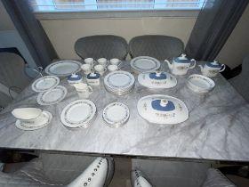 52 Pieces Royal Doulton Pastorale Tea Set. Excellent Condition