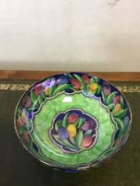 Maling ware irridescent bowl