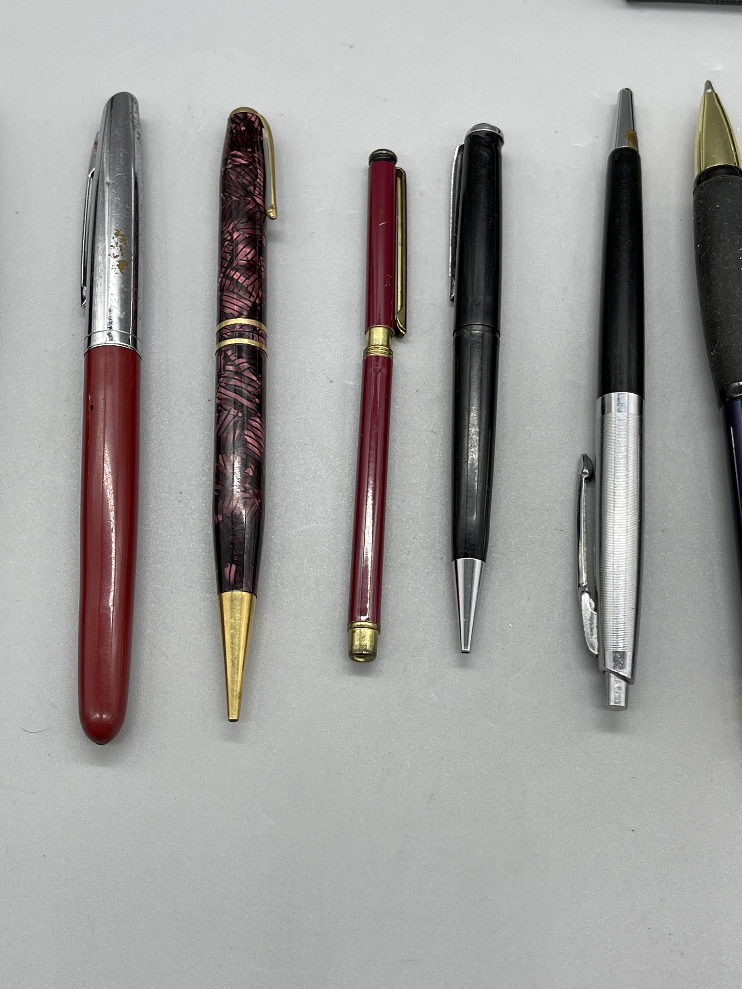 Qty of Fountain Pens, Parker etc. - Image 5 of 8