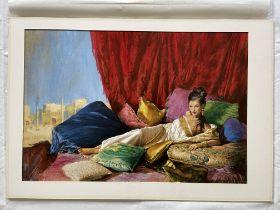 Original Artwork for book cover Jasmina unsigned,