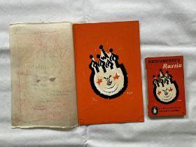 Penguin books original artwork for Khrushchev`s Ru