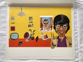 Aldridge Decoupage 40cm x 61cm, artist resale righ