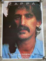 """Frank Zappa """"London Symphony"""" Original Vintage Pos"""
