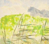 Josef Meng (Heideck 1887-1974 Kufstein) , Aquarell auf Papier, Passepartoutausschnitt: 24,5x22,5cm