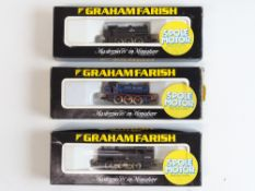 A group of GRAHAM FARISH N Gauge small steam tank locomotives to include 2 x Class J94 - G/VG in F/G