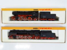 A pair of German Outline N Gauge steam locomotives by ARNOLD - G in G boxes (2)
