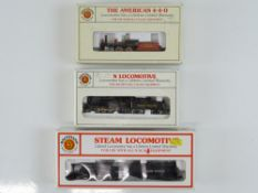 A group of N Gauge American Outline steam locomotives by BACHMANN all in Union Pacific livery - G in
