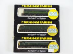 A group of N Gauge diesel locomotives by GRAHAM FARISH to include Class 25, 37 and 40 examples - G/