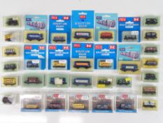 A quantity of boxed N Gauge wagons by PECO - G in G boxes (33)