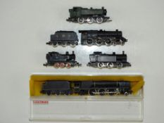 A group of unboxed N Gauge steam locomotives by FARISH and MINITRIX - F (unboxed) (5)