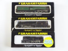A group of British Outline N Gauge steam locomotives by GRAHAM FARISH to include 'Flying Scotsman'