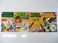 GREEN LANTERN #17, 19, 21, 24 - (4 in Lot) - (1962/63 - DC - UK Cover Price & US Price) - Flat/