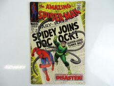 AMAZING SPIDER-MAN #56 - (1968 - MARVEL) - First appearance of Captain George Stacy + Doctor Octopus