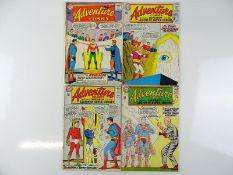 ADVENTURE COMICS #316, 323, 324, 325 - (4 in Lot) - (1964 - DC - US PRICE & UK Cover Price) - Flat/