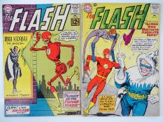 FLASH #133 & 134 - (2 in Lot) - (1962/63 - DC - US Price & UK Cover Price) - First appearance of