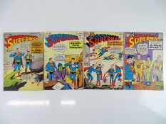 SUPERMAN #135, 143, 148, 152 - (4 in Lot) - (1960/62 - DC) - Flat/Unfolded