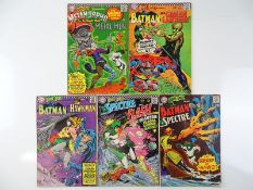BRAVE AND THE BOLD #66, 69, 70, 72, 75 - (5 in Lot) - (1966/68 - DC - US Price & UK Cover Price) -