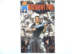 RESIDENT EVIL #1 - (1996 - MARVEL/CAPCOM) - RARE - Capcom giveaway issue - Bill Sienkiewicz