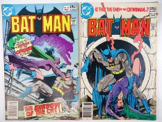 BATMAN #323 & 324 - (2 in Lot) - (1980 - DC - UK Price Variant) - Catwoman & Cat-Man appearances -