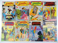 ADVENTURE COMICS #384, 386, 387, 388, 389, 390, 391, 392 - (8 in Lot) - (1969/70 - DC - UK Cover