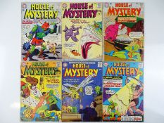 HOUSE OF MYSTERY #141, 145, 146, 147, 149, 153 - (6 in Lot) - (1964/65 - DC - UK Cover Price) -