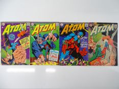 ATOM #26, 27, 32, 33 - (4 in Lot) - (1966/67- DC - US Price & UK Cover Price) - Flat/Unfolded