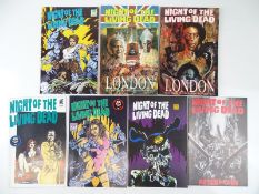 NIGHT OF THE LIVING DEAD LOT - (7 in Lot) - ( FANTACO) - ALL First Printings - Includes NIGHT OF THE