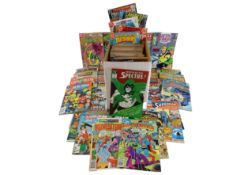 EXCALIBUR LUCKY DIP JOB LOT 200+ COMICS - ALL DC from 1970's to Present - Flat/Unfolded