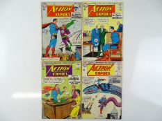 ACTION COMICS: SUPERMAN #298, 301, 302, 303 - (4 in Lot) - (1963 - DC - US Price & UK Cover Price) -