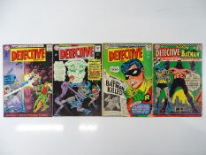 DETECTIVE COMICS: BATMAN #338, 343, 347, 355 - (4 in Lot) - (1965/66- DC - US Price & UK Cover
