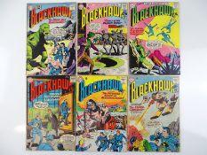 BLACKHAWK #176, 182, 186, 187, 188, 189 - (6 in Lot) - (1962/63 - DC - US Price & UK Cover