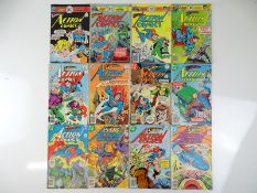 ACTION COMICS: SUPERMAN #457, 458, 459, 464, 465, 467, 468, 475, 477, 480, 482, 483 - (12 in
