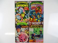 CHALLENGERS OF THE UNKNOWN #57, 61, 63, 70 - (4 in Lot) - (1967/69 - DC - US Price & UK Cover Price)