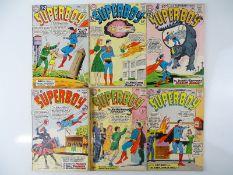 SUPERBOY #100, 101, 102, 103, 104, 105 - (6 in Lot) - (1962/63 - DC - US Price & UK Cover Price) -