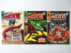 DAREDEVIL #33, 37, 38 - (3 in Lot) - (1967/68 - MARVEL - UK Price Variant & UK Cover Price) - Flat/