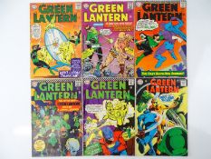 GREEN LANTERN #38, 39, 44, 46, 48, 62 - (6 in Lot) - (1965/68 - DC - UK Cover Price & US Price) -