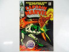 CAPTAIN MARVEL #2 - (1968 - MARVEL) - Super Skrull appearance - Gene Colan cover and interior