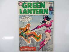 GREEN LANTERN #16 - (1962 - DC - UK Cover Price) - Origin and First appearance of the Silver Age