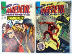 DAREDEVIL #29 & 31 - (2 in Lot) - (1967 - MARVEL - UK Price Variant) - Flat/Unfolded - a