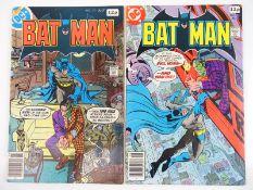 BATMAN #313 & 314 - (2 in Lot) - (1979 - DC - UK Price Variant) - First Tim Fox (Future State