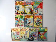 ACTION COMICS: SUPERMAN #427, 429, 433, 435, 436, 437, 438, 439, 440, 441 - (10 in Lot) - (1973/