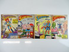 SUPERMAN #161, 164, 165, 167 - (4 in Lot) - (1963/64 - DC - UK Cover Price) - Includes Origin of