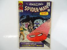 AMAZING SPIDER-MAN #22 - (1965 - MARVEL - UK Cover Price) - First appearance of Princess Python +