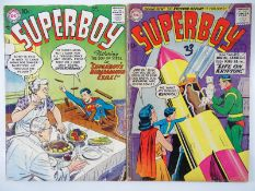 SUPERBOY #59 & 79 - (2 in Lot) - (1957/60 - DC - US Price & UK Cover Price) - Flat/Unfolded - a