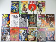 COMIC BOOKS: ALL #1 ISSUES (16 in Lot) - (MARVEL, VALIANT, MALIBU, TOPPS & Others) - Includes