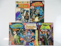 DETECTIVE COMICS: BATMAN #458, 467, 478, 500, 516 - (5 in Lot) - (1976/82 - DC - US Price, UK